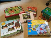 Pre-school puzzles including The Gruffalo and Goodnight Moon
