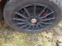 Fiat 16 inch alloy wheels