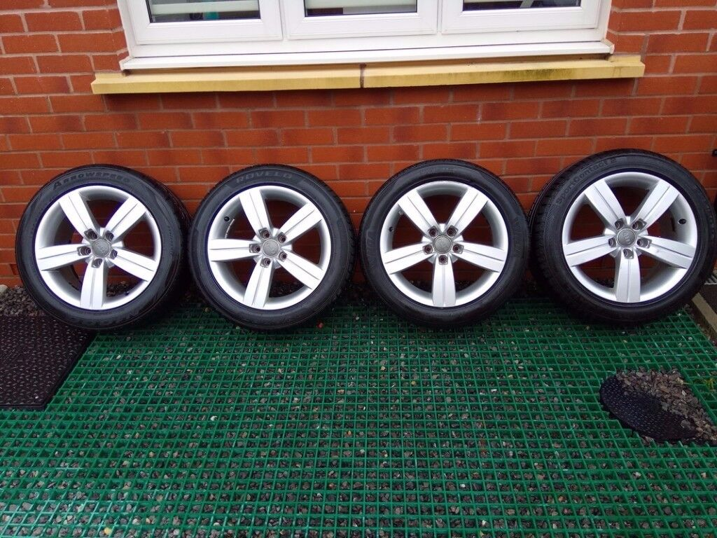"""Audi wheels 17"""" 5x112 225 50 17 ET47"""