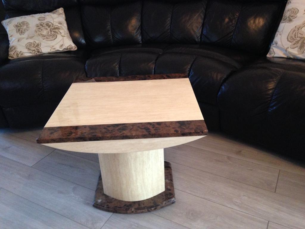 Coffee and Lamp Table