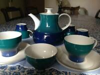 Rosenthal china part set. Very special teapot.
