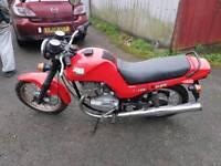 Jawa 350 red style