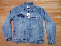 Brand new men's denim jacket size Small