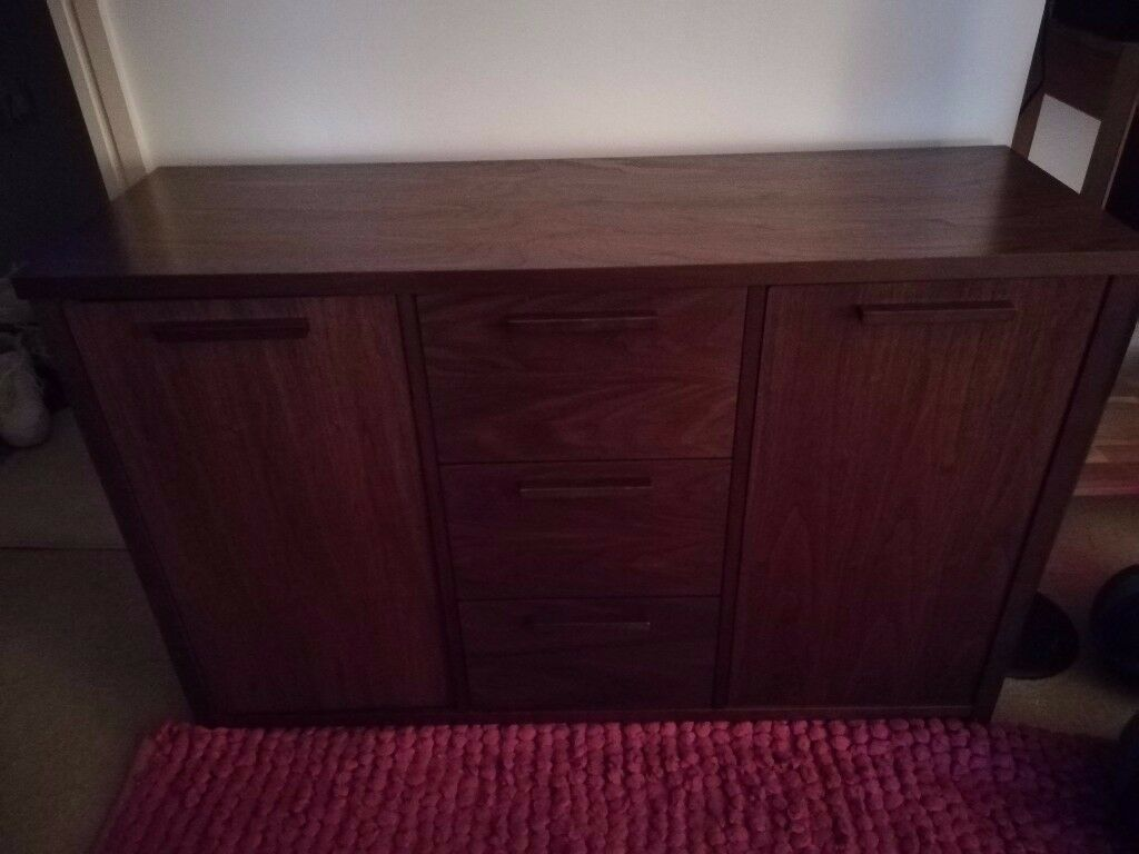 Solid walnut sideboard,excellent condition