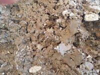 Free clay soil