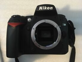 Nikon D90 12.3 MP Digital SLR Camera - Black (Body Only)