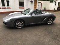 IMMACULATE PORSCHE BOXSTER - ONLY 21650 MILES - 2.7 MANUAL - 2006 - £ 13495 - STUNNING CAR MUST SEE