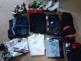Boys Bundle Clothes & Trainers, Age 10-12 yrs / Trainers Sizes 4 & 5