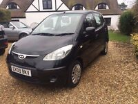 Hyundai i10 - ideal small car in great condition. MOT until March 2018