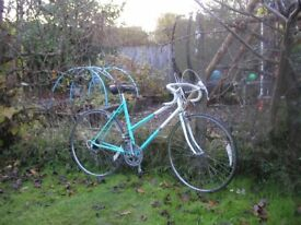 ladies raleigh impulse vintage racing bike 20 in frame,recent tyres