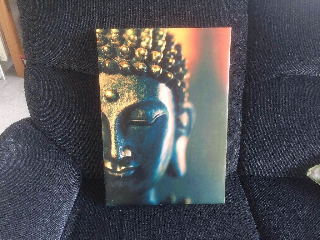 A 35cm by 49cm picture of a Buddha as shown in picture