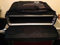 RACK CASE - hard shell gig bag type with strap and zip pocket
