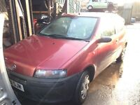 2001 Fiat Punto MK2 1.2 3dr red 132 F Rosso Scilla hwb BREAKING FOR SPARES