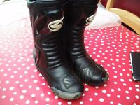 Swift motorcycle boots size 8