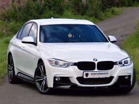 ★ALPINE WHITE★(2015) BMW 335D M SPORT XDRIVE - M PERFORMANCE PACK★ LEATHER ★ WARRANTY ★ HUGE SPEC
