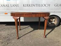 Vintage Queen Anne dining Table
