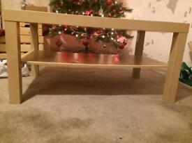 IKEA Lack coffee table/tv unit