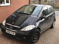 Black Mercedes A160 Diesel Automatic - No MOT