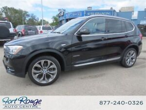 2015 BMW X3 xDrive28i Executive Package/Premium pkg enhanced
