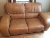 Leather Sofa and Electric Recliner MUST GO!