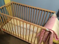 Fully built cot for sale.