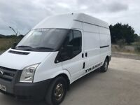 Ford transit 115t350l 2008 lwb high roof in average condtion throughout