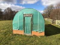 10 x 20ft poly tunnel