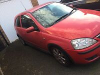 Vauxhall Corsa Red