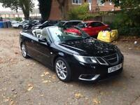 2009 SAAB 9-3 AERO TTID BLACK TWIN TURBO CONVERTIBLE