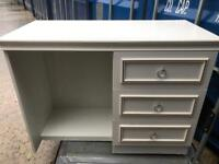 White melamine dressing table FREE DELIVERY PLYMOUTH AREA