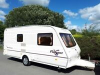 Bailey Pageant Monarch 2 Berth Caravan With Awning & End Washroom