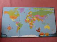 Excellent Leapfrog Tag Reader World Map - suits 3-8 years