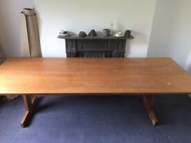 large dining/board room table - comes in two parts