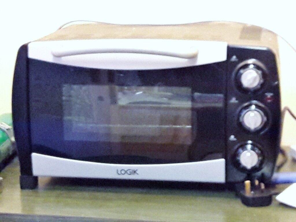 Logik Electric Mini Oven Cooker Grill 18 Ltrs Good For Caravan Boats Home Flats Camping Etc