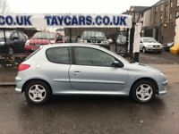 REDUCED!!! £895....2006 PEUGEOT 206 VERVE...12 M0NTHS MOT.......NOW £895!!