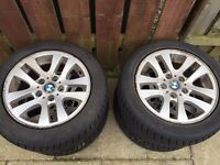 """16"""" BMW Wheels and Winter Tyres"""