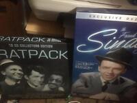Ratpack cd's + Sinatra exclusive DVD & book