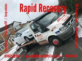 2003 ford transit recovery truck / swaps