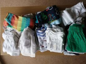 Baby boy clothes size Newborn and 0-3