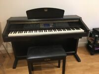 Yamaha Clavinova digital piano. Model CVP 203 . Perfect condition with manual.