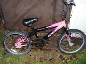 graverty bmx bike 11inch frame