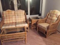 Four piece conservatory furniture