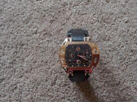 Mans wrist watch. Limited edition . RARE