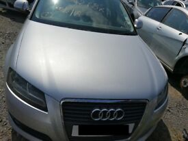 Audi A3 Sport 2008 Silver - For parts only!