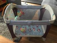 Small travel cot