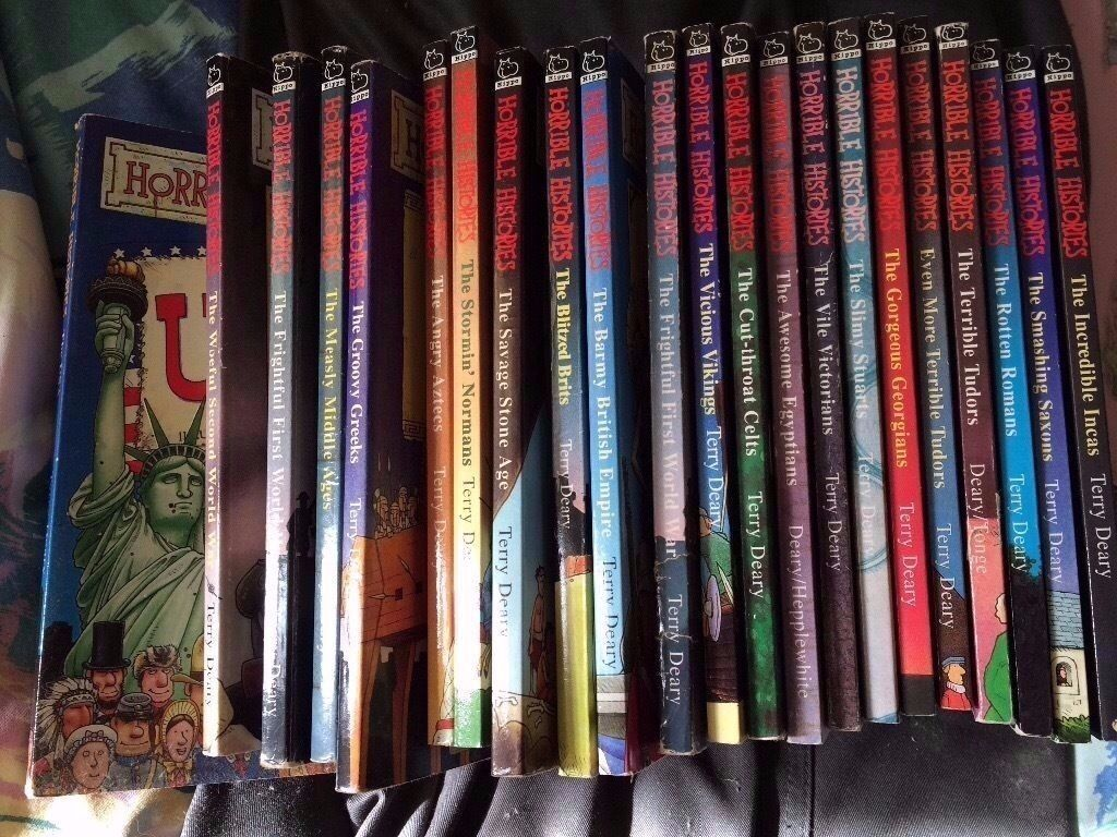 Horrible Histories book collection 50p each