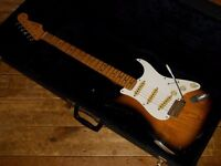 Fender JV Squier Stratocaster 1982 made in Japan big Fender small Squier logo