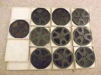 "Last few left - Tandy/Realistic 1/4"" Concertape 1800ft tapes on 7"" plastic spools"