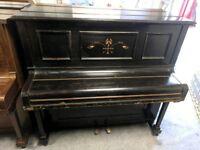 Good Black 'Mead & Son' Upright Console Piano - CAN DELIVER