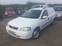2005 ASTRA VAN LS CDTI IN VGCONDITION DRIVES LIKE NEW STILL ANYTRIAL WELCOME ULTRA RELIBLE